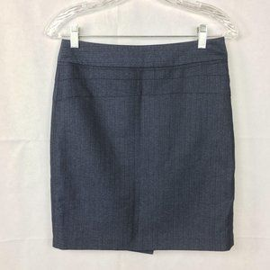 The Limited Navy Blue Pencil Skirt Sz 2 Classic